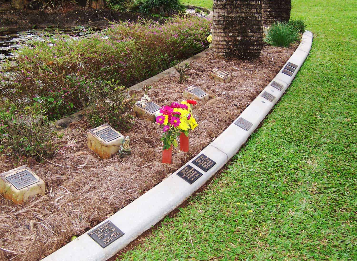 Established Gardens at Cairns Crematorium Funeral Home & Memorial Gardens