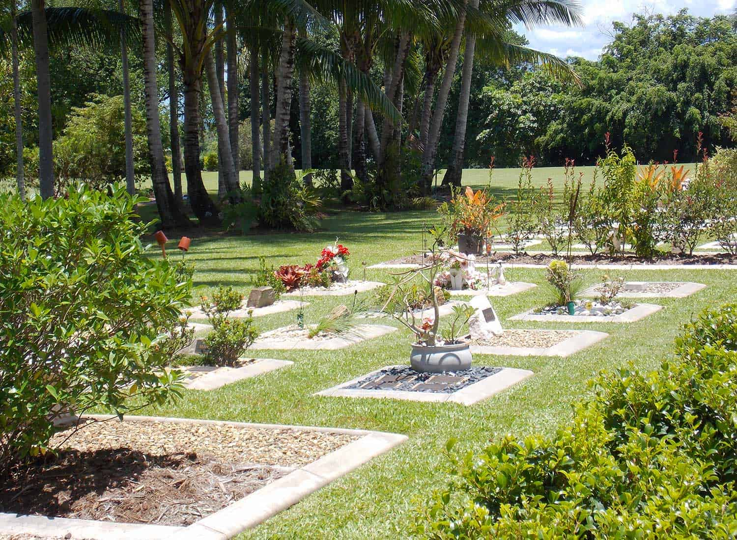 Family Gardens at Cairns Crematorium Funeral Home & Memorial Gardens